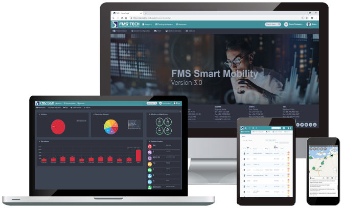 FMS Smart Mobility Fleet Mangement Software