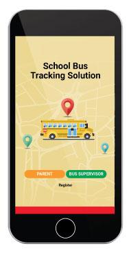 Smart School Bus System App Splash Screen