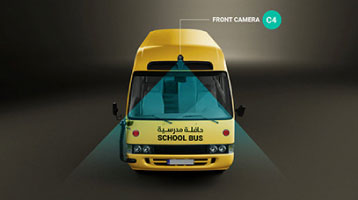 Smart School Bus System Front Camera