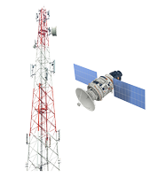 FMS Tech Hardware sent to mobile network or LEO Satellite