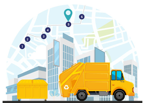 Waste Management Routing